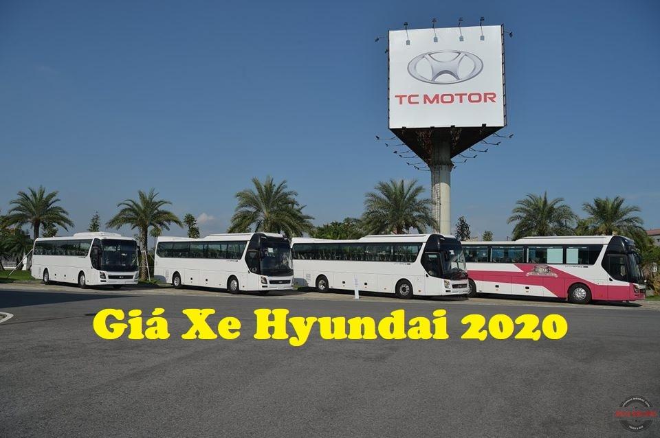 Giá Xe Hyundai2020
