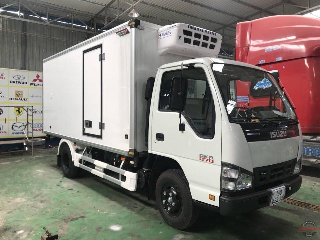 Giá xe tải đông lạnh