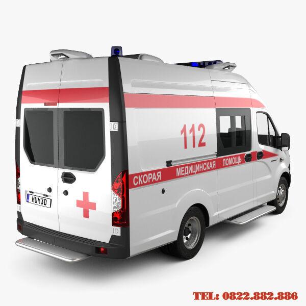 Xe Gaz cứu thương
